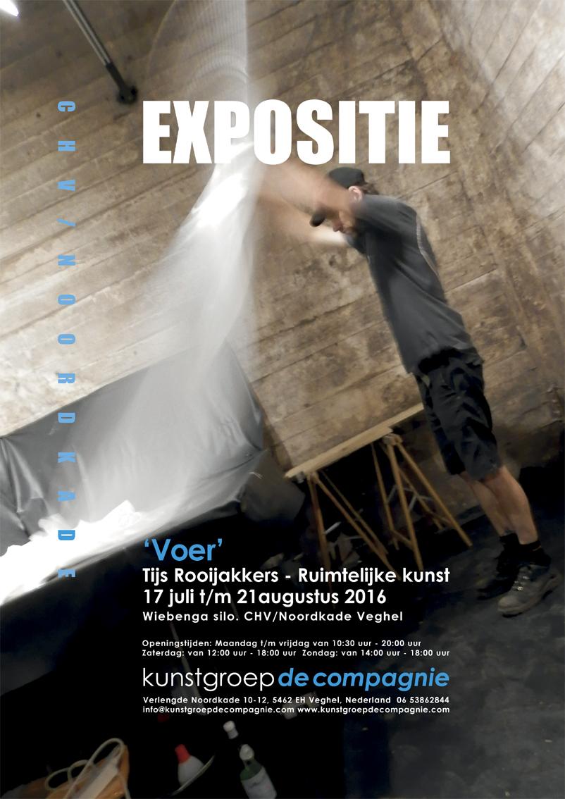 Solo expositie: VOER, CHV Noordkade te Veghel