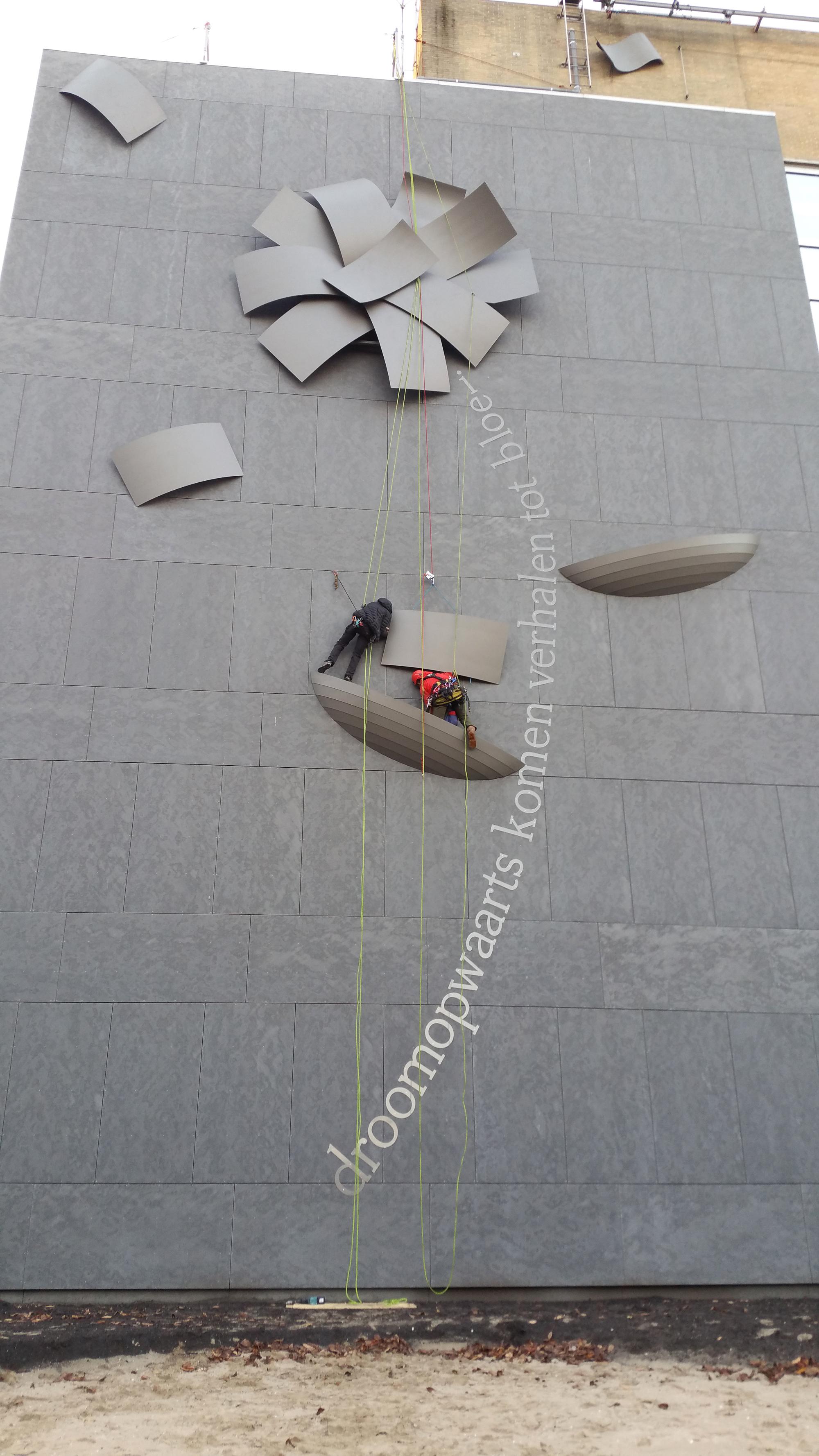 Wachtgevel kunstwerk Westfriesgasthuis