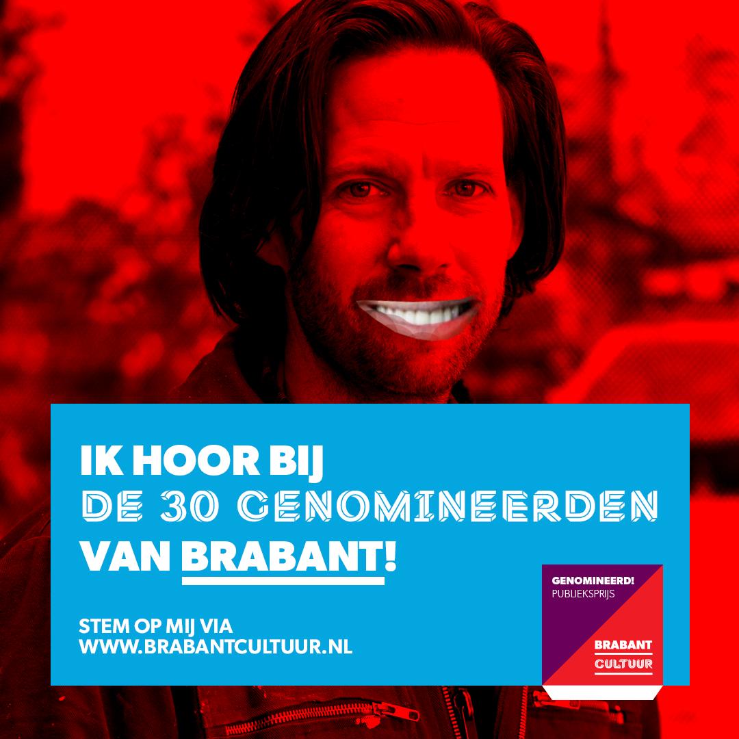 genomineerd voor de Brabantcultuur publieksprijs : )