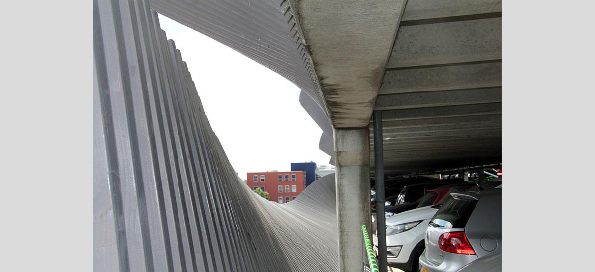valbeveiliging parkeergarage